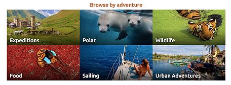 Intrepid Travel site redesign