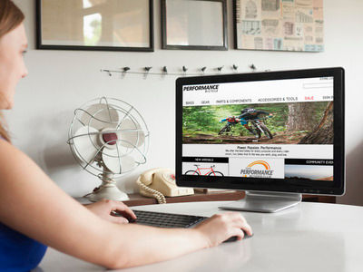 Performance Bicycle e-commerce redesign