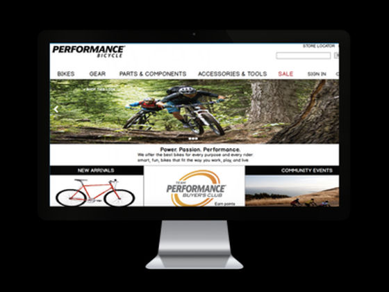 Performance Bicycle site redesign