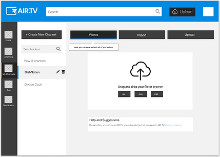 Air.TV Tutorial Guide - View My Channels