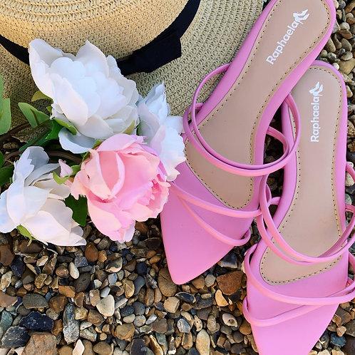 Pink Flat Sandal