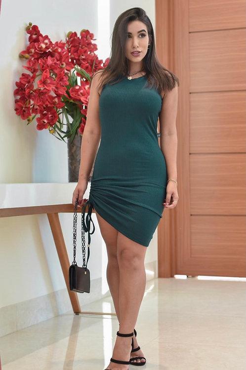 Green Pull up  Dress