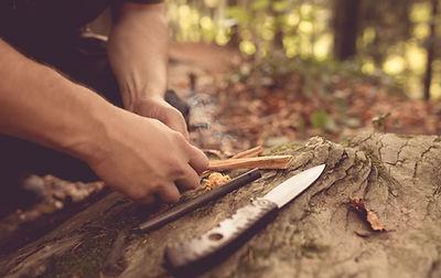 Feuer machen, Feuerstein, Cereisen