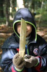 Mein Holzmesser