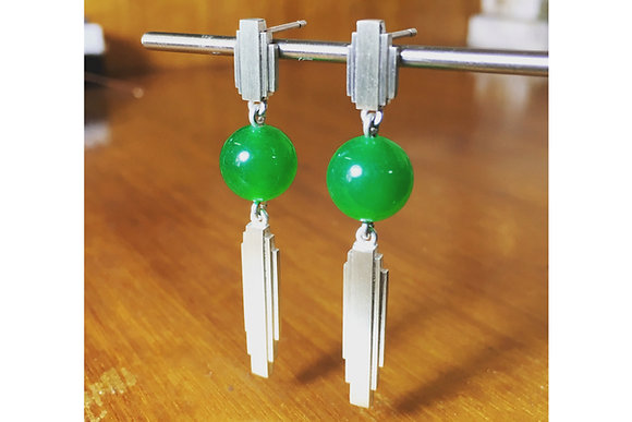 Empire State Quartz Drop Earrings