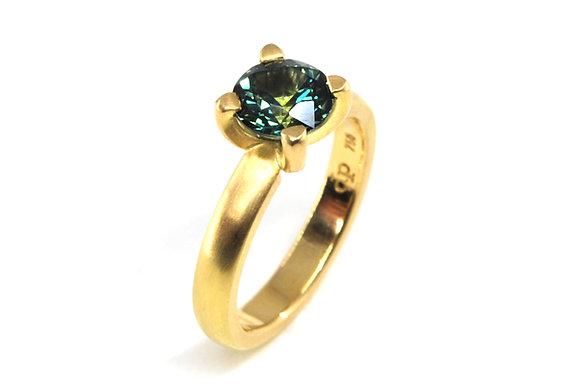 Brilliant Solitaire Ring