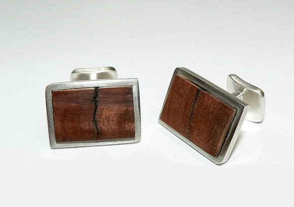 Red Gum Cuff Links