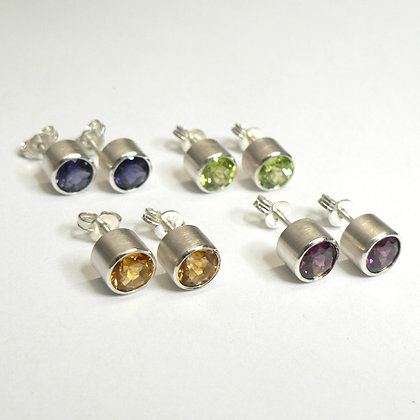 Potted Colour Stud Earrings