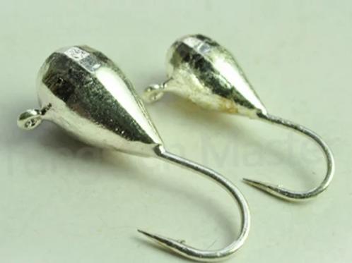 Unpainted Tungsten Jigs, 3-9mm