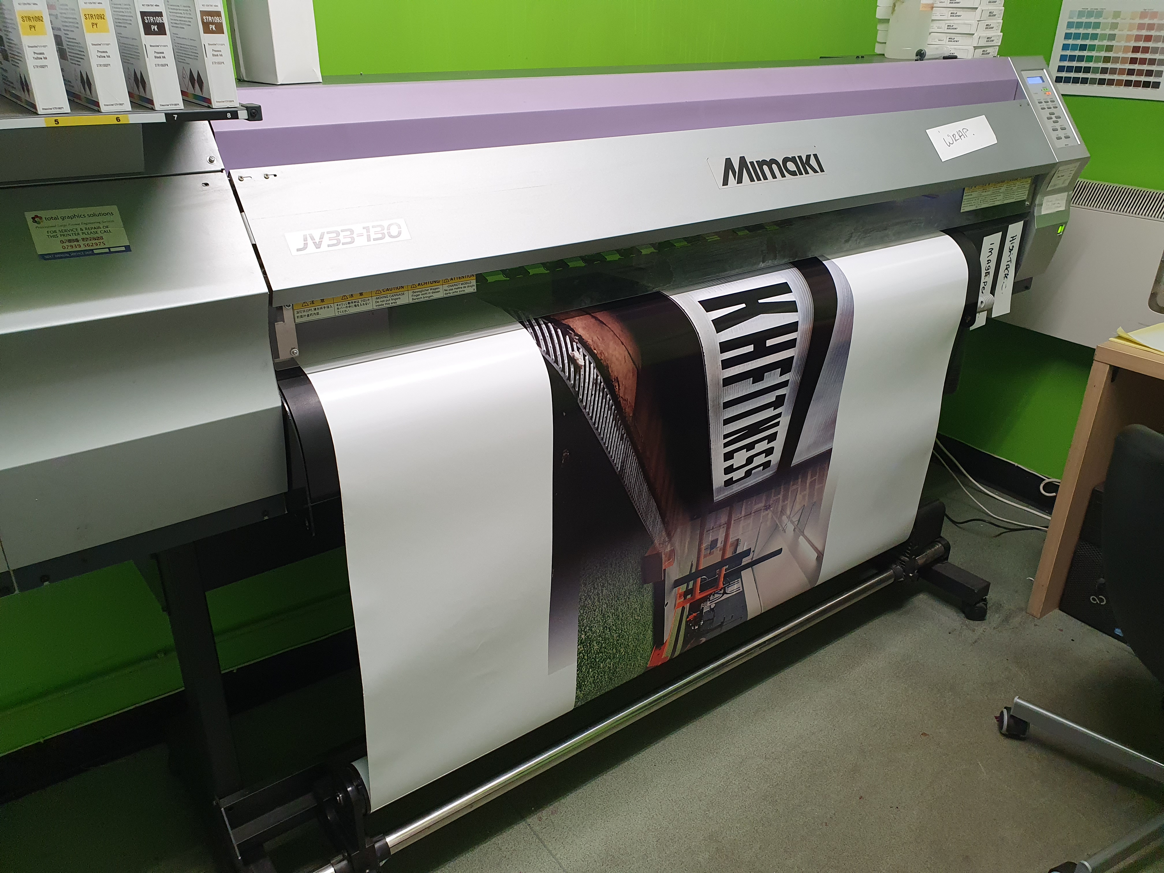 Printed Vehicle wrap