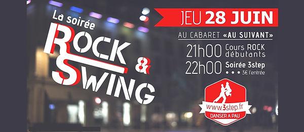 Soirée rock swing au Cabaret Au Suivant avec 3step