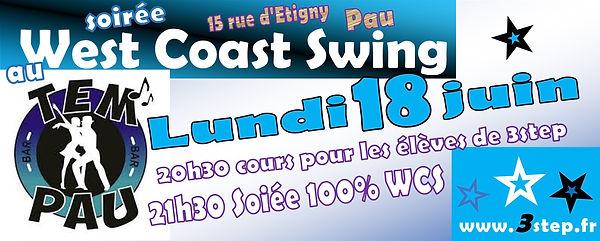 Soirée 100% West Coast Swing
