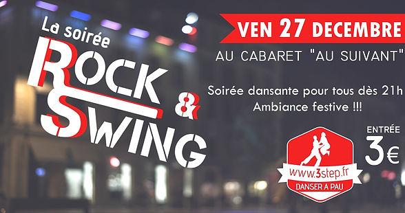 """Soirée dansante rock swing avec 3step au Cabaret """"au Suivant"""""""