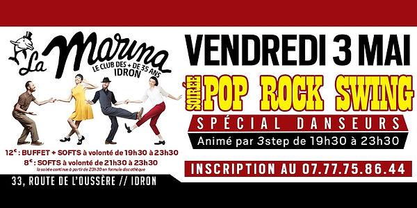 Soirée pop rock swing à la Marina avec 3step