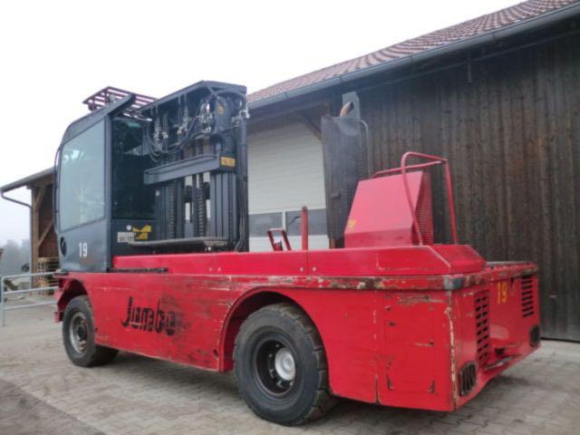 Jumbo 6 ton sideloader forklift