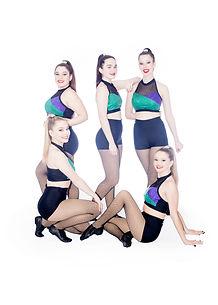 Studio C Dance Senior Elite dance team jazz group