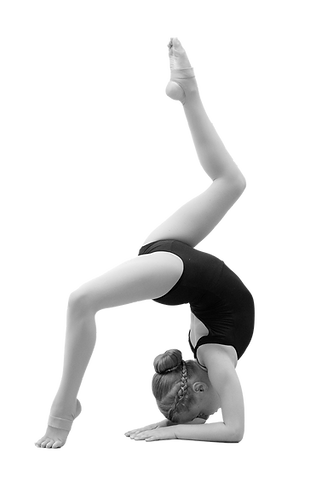 Acro dancer at Studio C Dance School Cornwall, Ontario Chloe Tait Junior Competitive Team