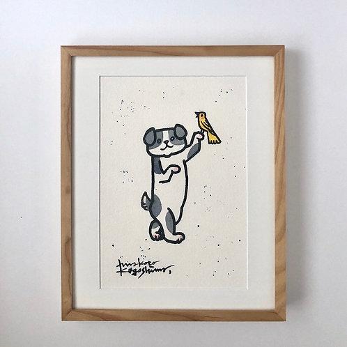 Drawing / Walking companion