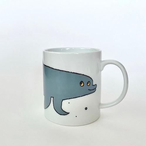 マグカップ  Dolphin