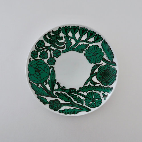 Path Cake Plate / Green
