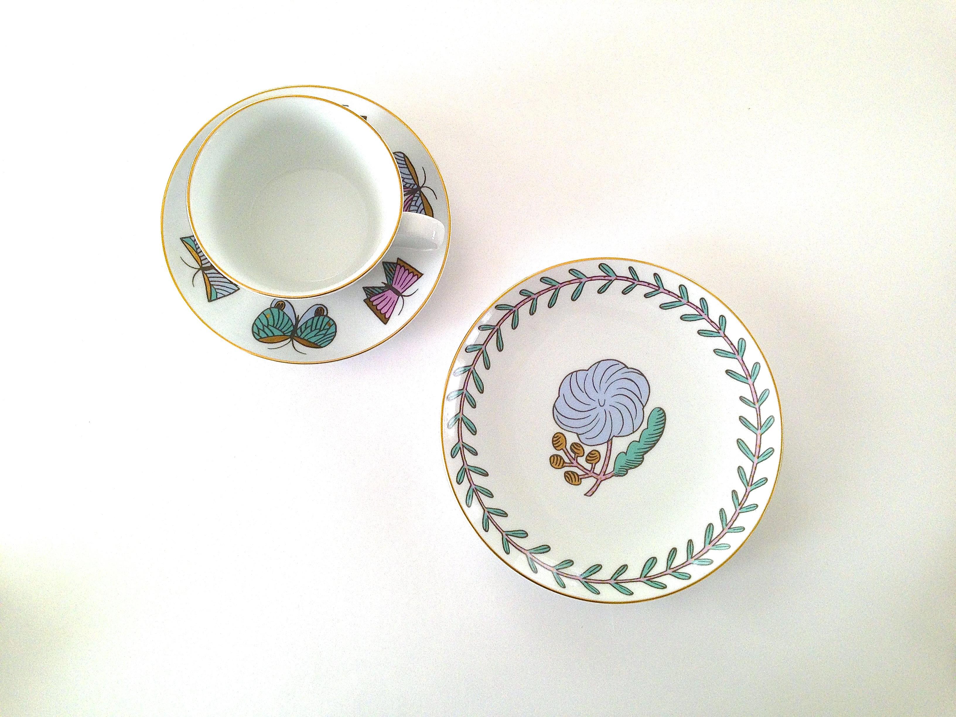 Cup&Saucer Pivoine
