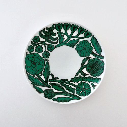 Path Cake Plate  Green