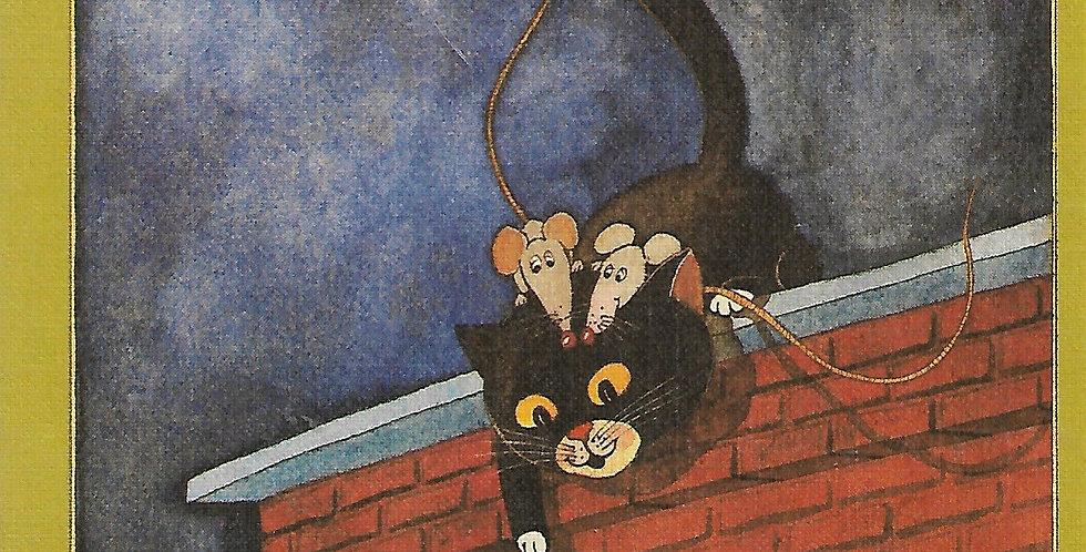 החתול שקפץ מן הספור