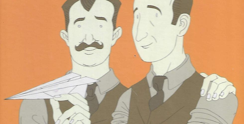 האחים רייט בוני המטוסים הראשונים בעולם