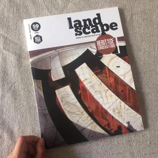 Featured: Landscape Journal Vol. 59 2019