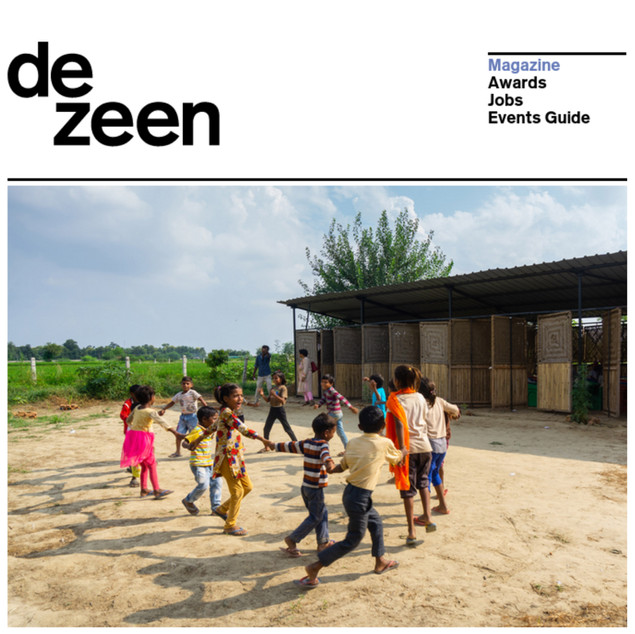 Feature on Dezeen, Jan 2020