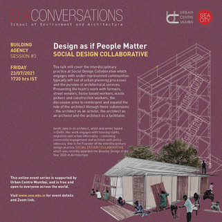 Online Lecture: Design as if People Matter