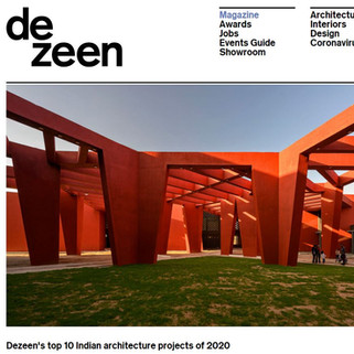 Featured: Dezeen's top 10 Indian architecture projects of 2020