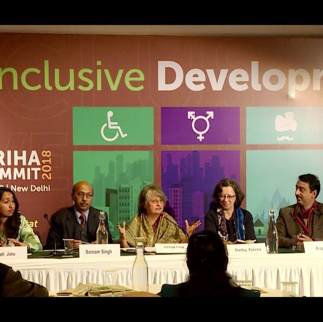 10th GRIHA Summit - Panel on Inclusive Development, Delhi, 2018
