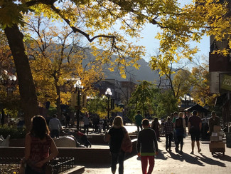 Pumpkin Spice Everything Nice; Visiting Boulder, Colorado