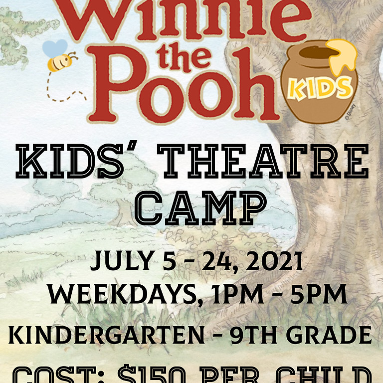 Theatre Kids' Camp - WINNIE THE POOH KIDS!