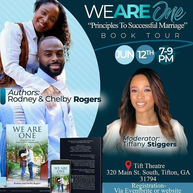 "God's Plan Ministries ""We Are One"" Book Tour"