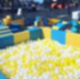 custom 20x20 ball pool and soft play pac