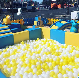custom 20x20 ball pool and soft play pac