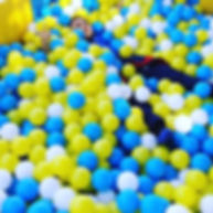 blue and yellow ball pit warriors.jpg