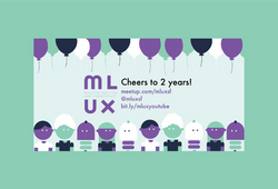 Poster for MLUX meetup