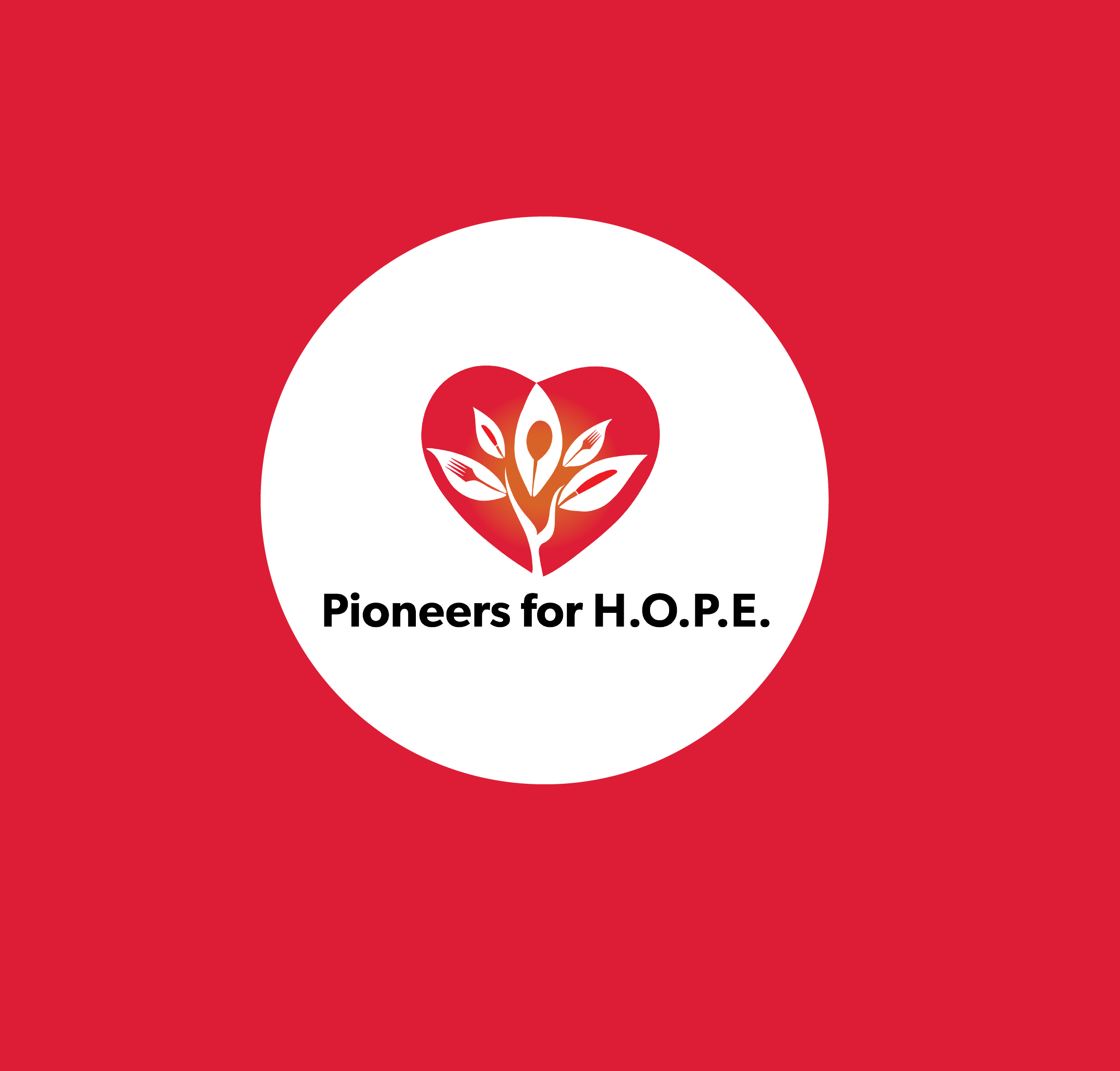 Pioneers for H.O.P.E. Logo