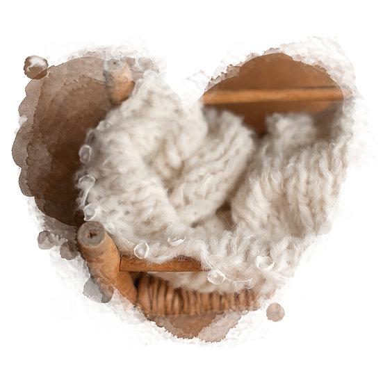 soft fog ° gemstone flower blanket