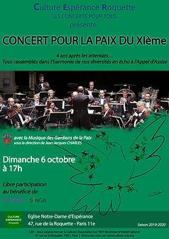 Web Affiche Concert pour la paix 6 octob