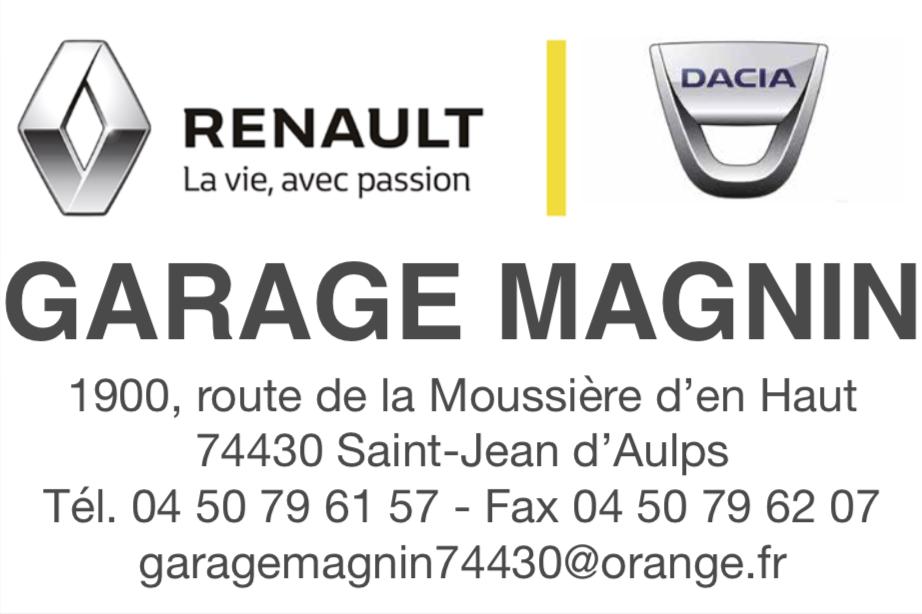 1 Garage Magnin
