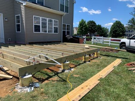 Backyard Deck Project: Accommodating Homeowner Needs
