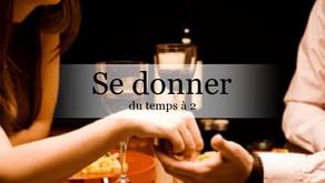 Un diner en amoureux