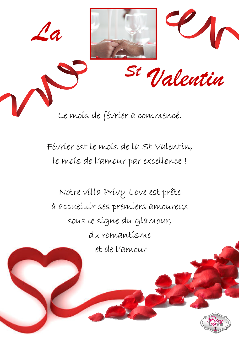 St Valentin Privy Love