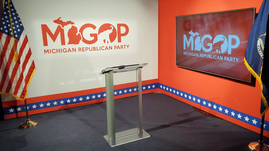 MiGOP Convention Set Design
