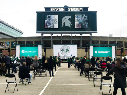 Michigan State University Spring Commencement