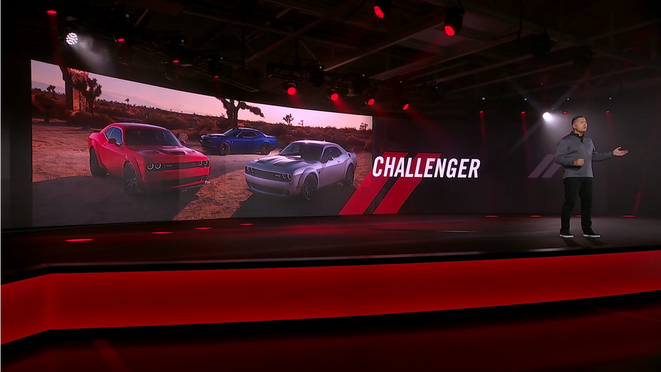 FCA Dodge 2020 Media Reveal